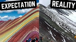 Rainbow Mountain was NOT what we Expected