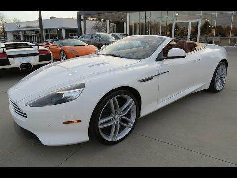 2014 Aston Martin DB9 Volante Start Up, Exhaust, and In Depth Review