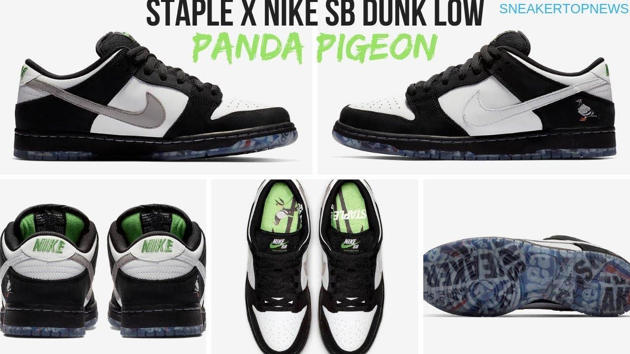"3d5fa74709040 The Nike SB Dunk Low ""Panda Pigeon"""