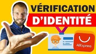 Compte Aliexpress bloqué, vérification d'identité et de carte bancaire