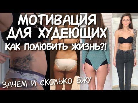 МОТИВАЦИЯ для ХУДЕЮЩИХ ❤️ Зачем нам КБЖУ / Как похудеть БЫСТРО / С чего начать ПОХУДЕНИЕ / - 10 кг
