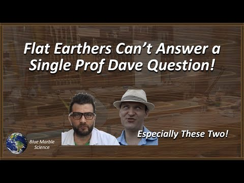 Flat Earthers Can't Answer a Single Professor Dave Question! thumbnail