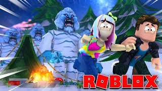 Roblox | Don't Go Camping On Frosty Mountain!