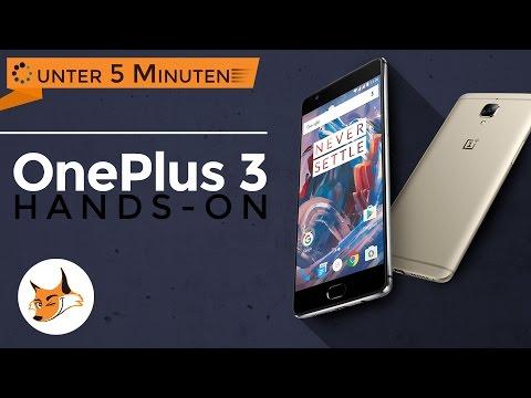 Hands-On OnePlus 3 und Android-User ärgern - in unter 5 Minuten
