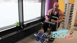 BodyCamp / Saliohjeet / Pohjelihakset istuen