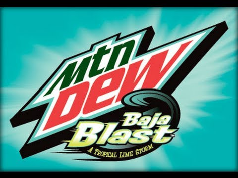 how to make mountain dew baja blast at home