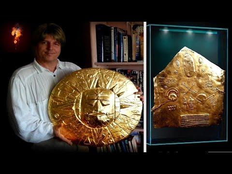 Solid Gold Star-Map Found In Peru