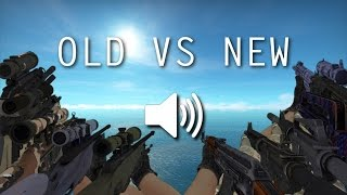 Video OLD VS NEW SOUND | CS:GO | ALL RIFLES + DEAGLE download MP3, 3GP, MP4, WEBM, AVI, FLV November 2017