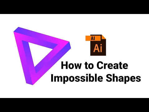 How to create impossible shape in illustrator | intolerable shape  | Advance Illustrator Tutorial thumbnail