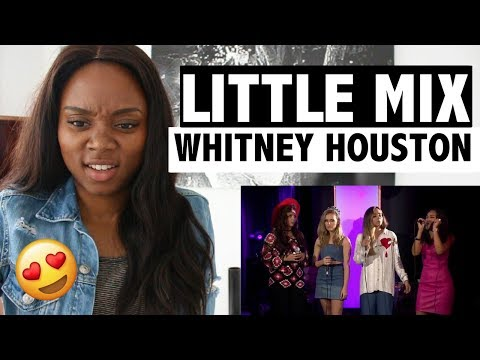 Little Mix - Whitney Houston Cover - Live Lounge - REACTION!