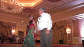 Best Father Daughter Indian Wedding Dance EVER!