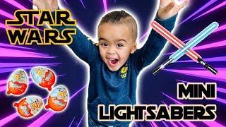 Star Wars Mini Lightsaber Discovery Lab + Kinder Joy Star Wars 2019