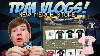 TDM Vlogs | NEW MERCH STORE! Plus more Mail Time! | Episode 12