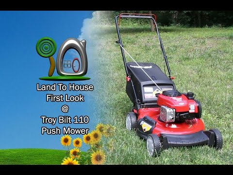 Troy Bilt 110 Mower First Look