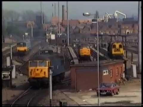 Nottingham Railway Station,  April 1987 Part 1