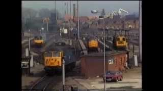 Nottingham Railway Station,  April 1987 Part 1