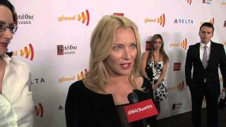 Angela Featherstone & Michelle Paradise Interview: GLAAD Media Awards