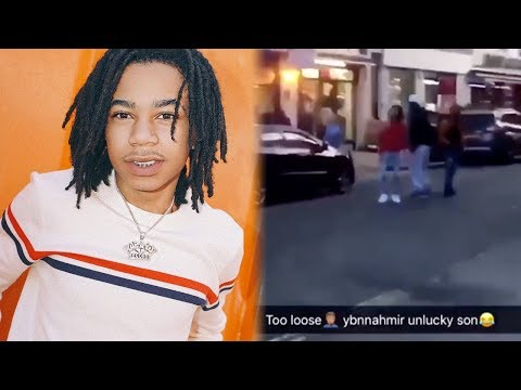 Goons Run Up On YBN Nahmir And Take His Chain He Then Responds