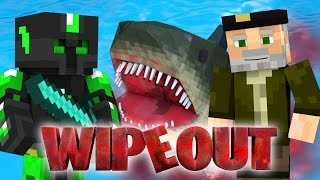 EL TIBURÓN GIGANTE!! WIPEOUT | Minecraft Race Map
