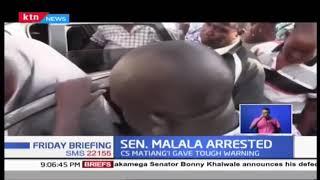 Senator Malala, Ex Sport CS Echesa arrested over Matungu killings