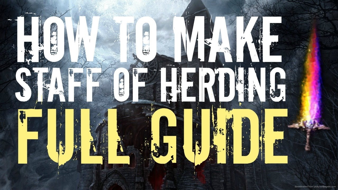 how to get staff of herding