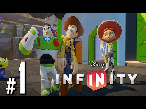 Disney Infinity: Toy Story in Space HD Walkthrough - Intro Woody - Part 1