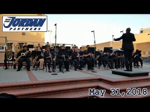 David Starr Jordan High School Concert (May 31, 2018) BAND & ORCHESTRA