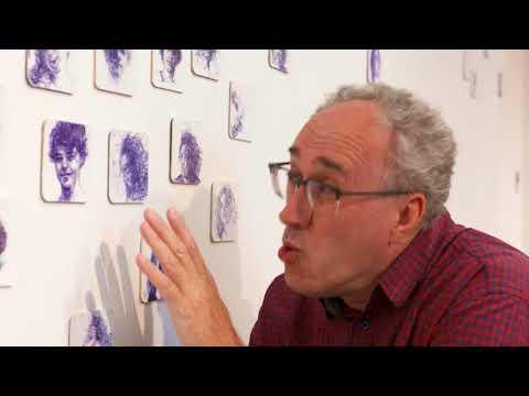 Bierviltjes op de muur | Kunst kijken met Pieter | Balpennekes van Anita Vermeeren