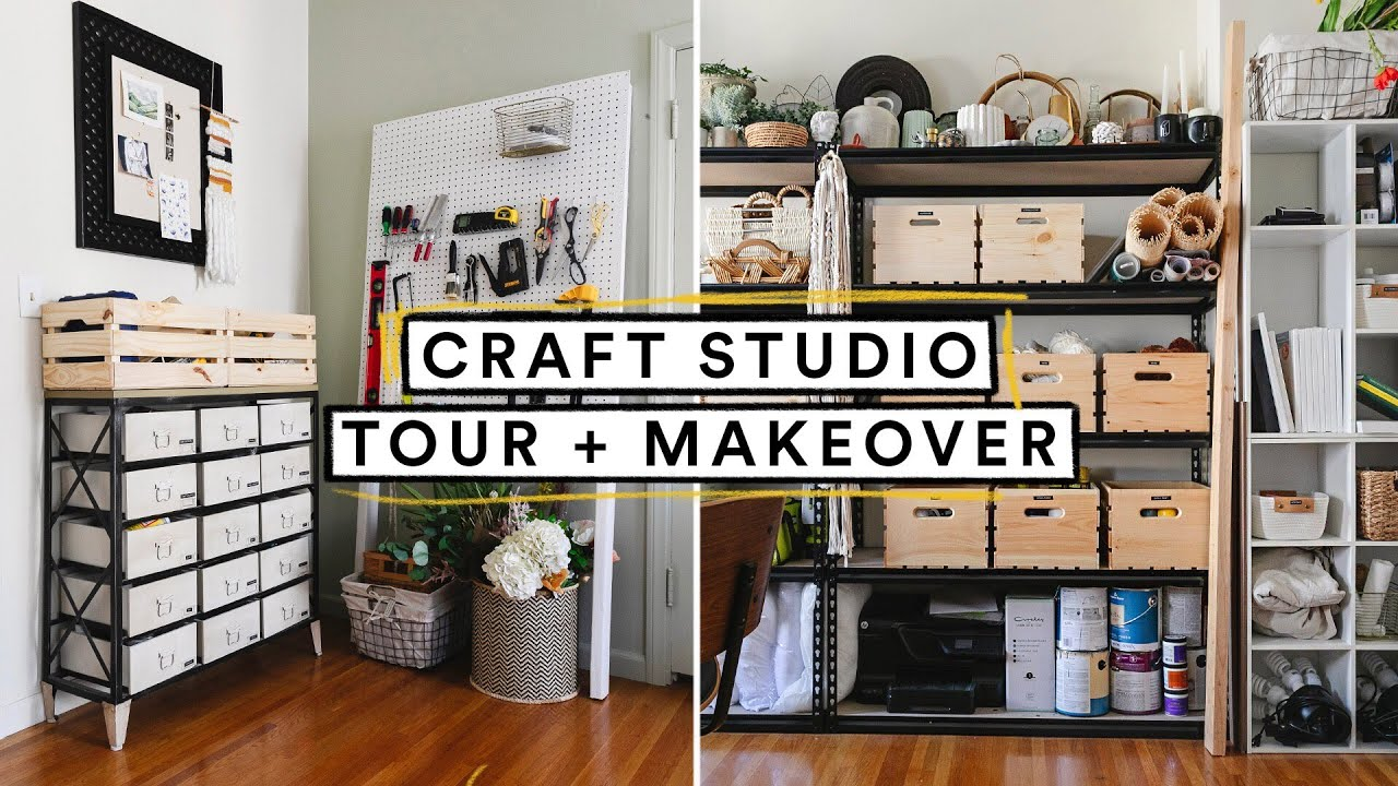 Lone Fox Craft Studio Tour + MAKEOVER  🦊 *Never Before Seen*