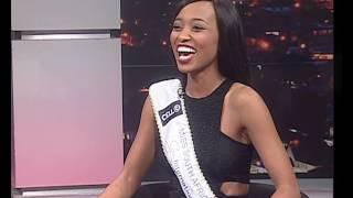 Gambar cover Thomas Mlambo, host of sport @ 10 interviews  Miss South Africa 2016