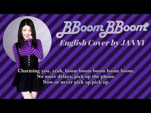 MOMOLAND - BBoom BBoom | English Cover by JANNY