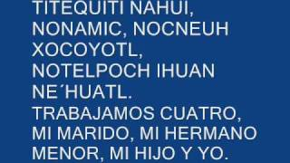 Poema indigena mexicano