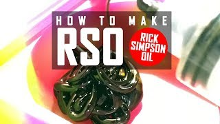 How to Make Hash Oil Using the Rick Simpson Method (RSO): Cannabasics #11