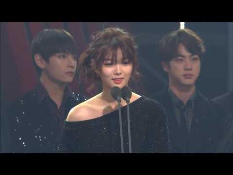 161116 방탄소년단 (BTS) AAA  BEST ICON @ASIA ARTIST AWARDS