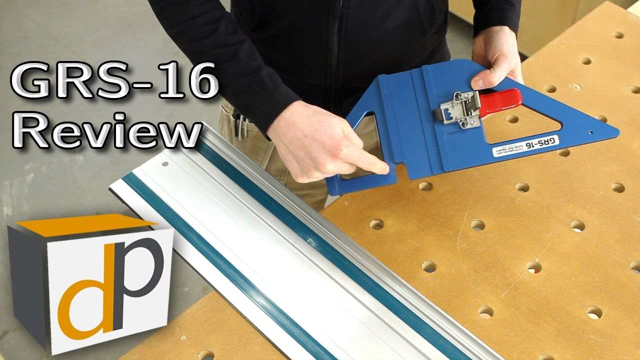 Grs 16 Track Saw Guide Rail Square Review Youtube