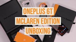 OnePlus 6T Mclaren Edition Unboxing