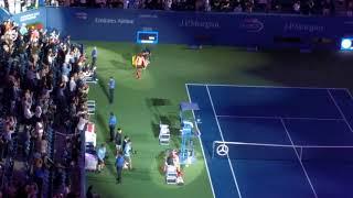US Open Semi final del Potro - Nadal live
