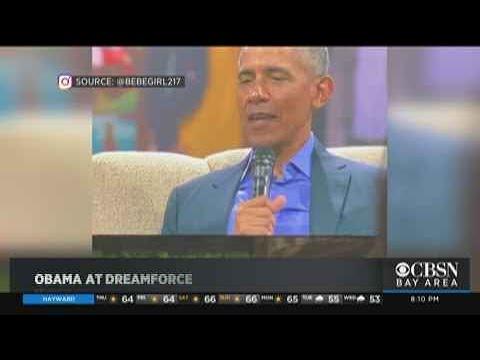 Former President Obama Makes Bay Area Visit