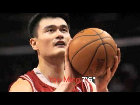 10 Tallest Players in NBA History!!