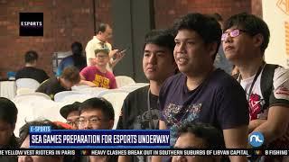 E Sports |sea Games Preparation For E Sportsunderway