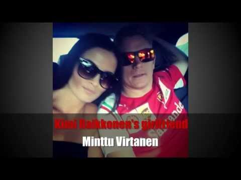Kimi Raikkonen's girlfriend Minttu Virtanen