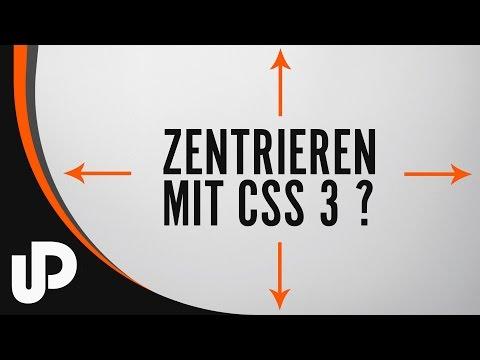 Mit CSS Objekte Zentrieren! [Tutorial]