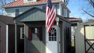 Alans Factory Outlet Amish Storage Sheds, Prefab Garages, Virginia, Va