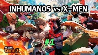 INHUMANOS vs X-MEN #01 - El Plan de los X-Men empieza - Comic en español - Narrado
