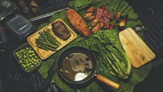 Off-road Camping in Hot Dry season - Lotus pond, cooking l លេីសពីបោះតង់? Khmer Style Ep:18