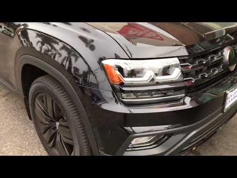 2018 Volkswagen Atlas Blacked out chrome delete Los Angeles Al & Ed's Autosound