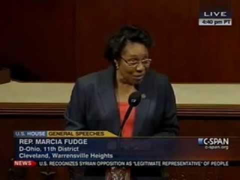 Rep. Fudge Tribute to Departing Members of Ohio Delegation