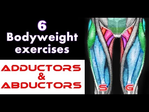 6 Bodyweight Exercises for Adductors & Abductors