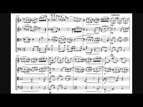 Paul Hindemith - String Quartet No. 1, Op. 2