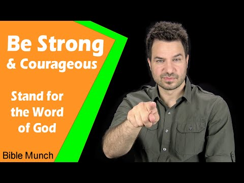 Be Strong and Courageous - Stand for the Word of God | Jeremiah 20:9 Bible Devotional | Bible Study